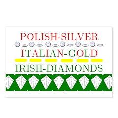 Irish Diamonds Postcards (Package of 8)
