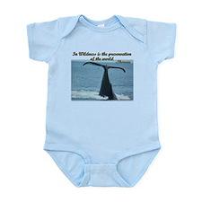 Humpback Whale Infant Bodysuit