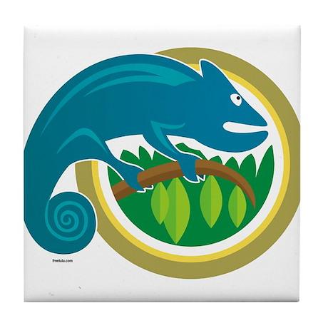 Chameleon Tile Coaster