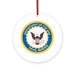 Naval Reserve Keepsake (Round)