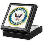Naval Reserve Keepsake Box