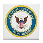 Naval Reserve Tile Coaster