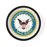 Naval Reserve Wall Clock