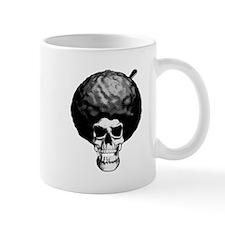 Skull With Afro Mug