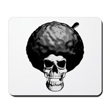 Skull With Afro Mousepad
