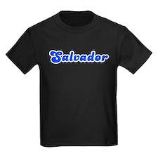 Retro Salvador (Blue) T