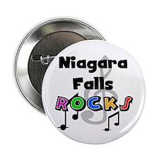 "Niagara Falls Rocks 2.25"" Button"