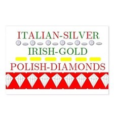 Polish Diamonds Postcards (Package of 8)