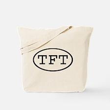 TFT Oval Tote Bag