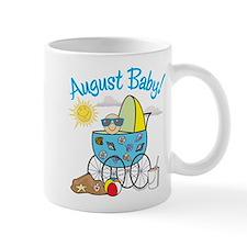 AUGUST BABY! (in stroller) Small Mug