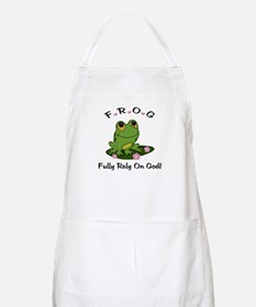 FROG Fully Rely On God BBQ Apron