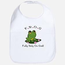 FROG Fully Rely On God Bib