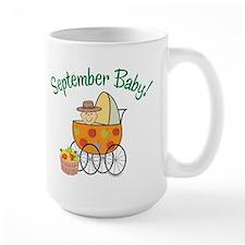 SEPTEMBER BABY! (in stroller) Mug