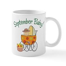 SEPTEMBER BABY! (in stroller) Small Mug
