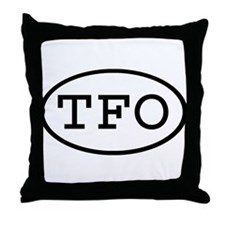 TFO Oval Throw Pillow