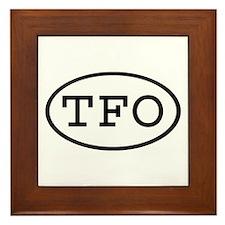 TFO Oval Framed Tile