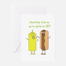 Best Friends Forever Greeting Cards (Pk of 20)