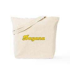 Retro Dayana (Gold) Tote Bag