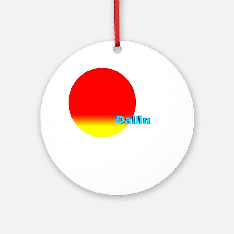 Dallin Ornament (Round)