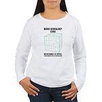Borg Genealogy Cube Women's Long Sleeve T-Shirt
