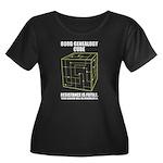 Borg Genealogy Cube Women's Plus Size Scoop Neck D