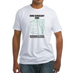 Borg Genealogy Cube Fitted T-Shirt