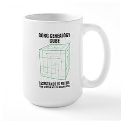 Borg Genealogy Cube Mug