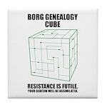Borg Genealogy Cube Tile Coaster