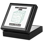 Borg Genealogy Cube Keepsake Box