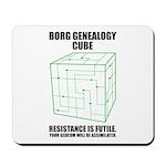 Borg Genealogy Cube Mousepad