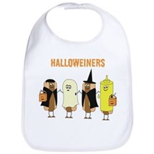 Halloweiners Bib