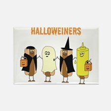 Halloweiners Rectangle Magnet