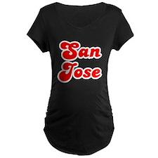 Retro San Jose (Red) T-Shirt