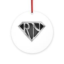 Super RN - Metal Ornament (Round)