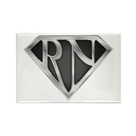Super RN - Metal Rectangle Magnet (100 pack)