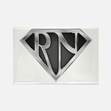 Super RN - Metal Rectangle Magnet (10 pack)