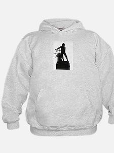 Fisherman Front / Greasypole Back Hoodie