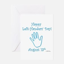 Left Handers' Day Greeting Card