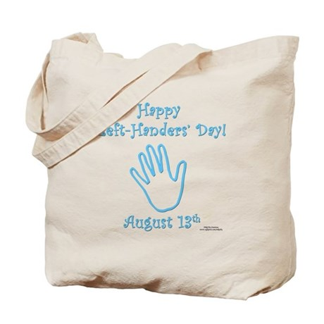 Left Handers' Day Tote Bag