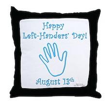 Left Handers' Day Throw Pillow