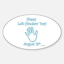 Left Handers' Day Decal