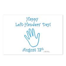 Left Handers' Day Postcards (Package of 8)