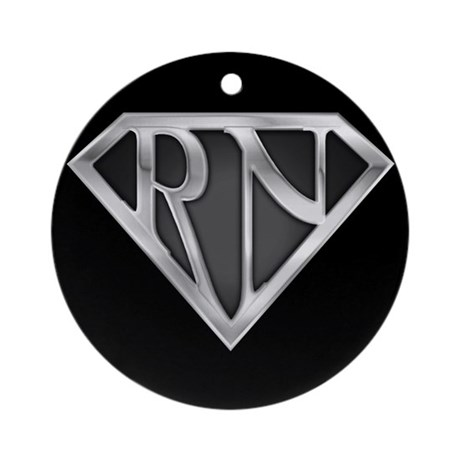 Super RN Ornament (Round)