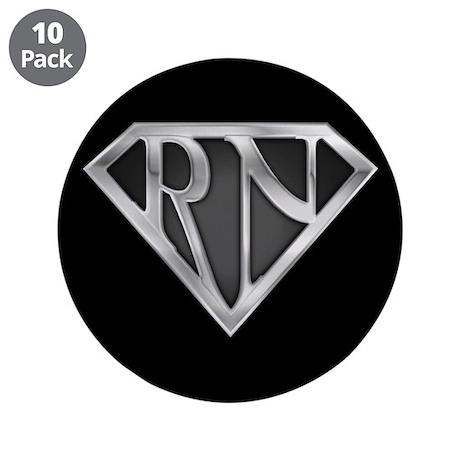 "Super RN 3.5"" Button (10 pack)"