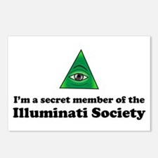 Illuminati Society Postcards (Package of 8)