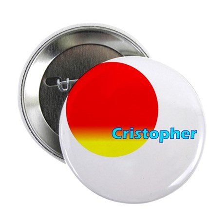 """Cristopher 2.25"""" Button (10 pack)"""