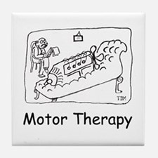 Motor Therapy Tile Coaster