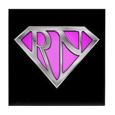 Super RN - Pink Tile Coaster
