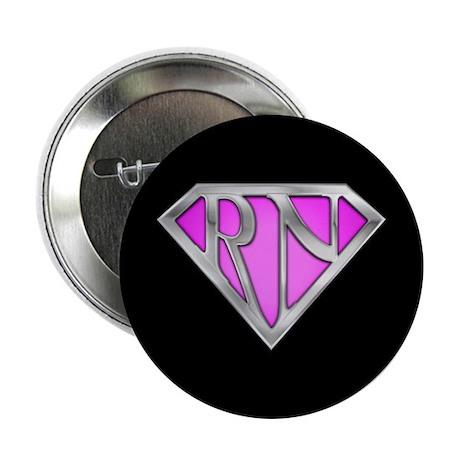 "Super RN - Pink 2.25"" Button (100 pack)"