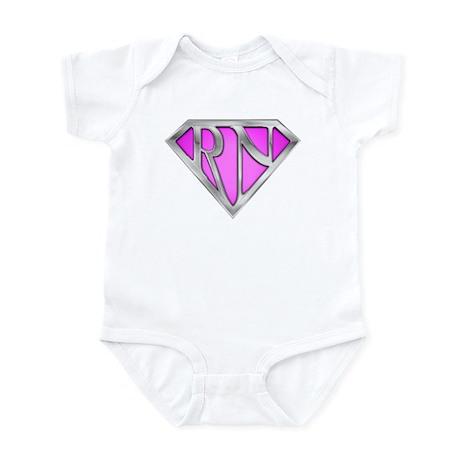 Super RN - Pink Infant Bodysuit